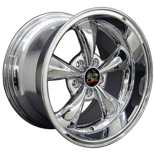 "17"" Fits Ford - Mustang Bullitt Wheel - Chrome 17x1.5 