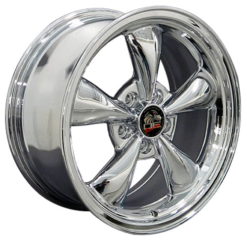 "17"" Fits Ford - Mustang Bullitt Wheel - Chrome 17x8 