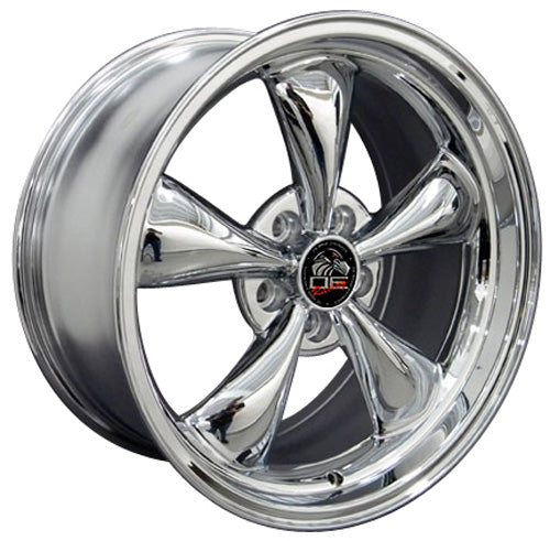 "17"" Fits Ford - Mustang Bullitt Wheel - Chrome 17x9 
