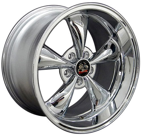 "18"" Fits Ford - Mustang Bullitt Wheel - Chrome 18x1 