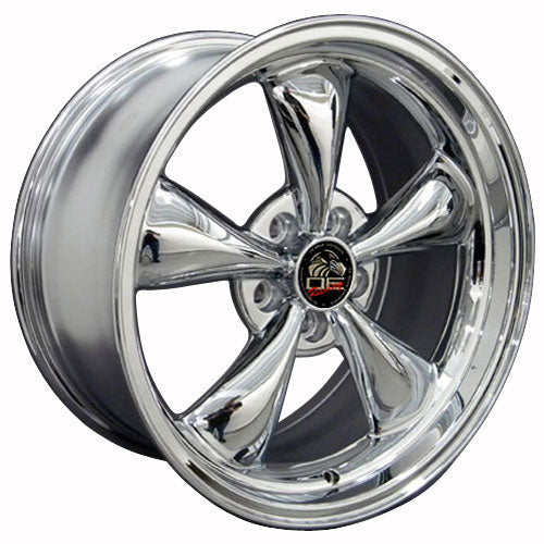 "18"" Fits Ford - Mustang Bullitt Wheel - Chrome 18x9 