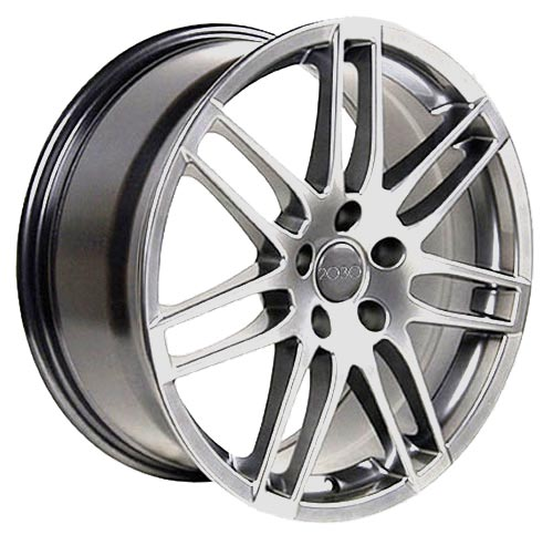 "17"" Fits Audi - RS4 Wheel - Hyper Silver 17x7.5 