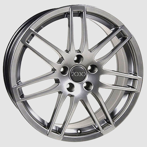 "18"" Fits Audi - RS4 Replica Wheel - Hyper Silver 18x8 