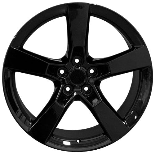 "20"" Fits Camaro - SS Style Replica Wheel - Black 2x9 