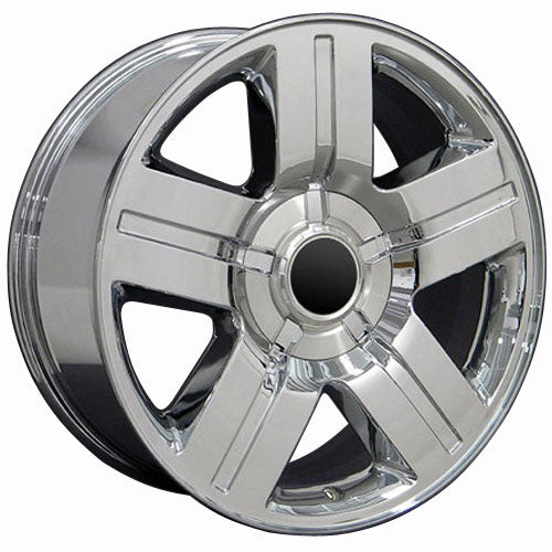 "20"" Fits Chevrolet - Texas Wheel - Chrome 2x8.5 