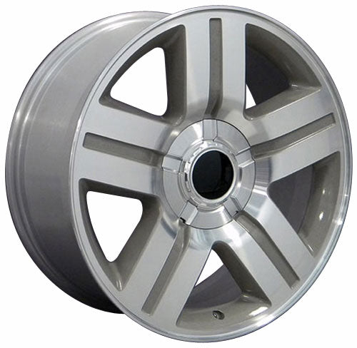 "20"" Fits Chevrolet - Texas Wheel - Silver 2x8.5 