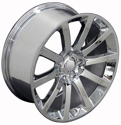 "20"" Fits Chrysler - 3 SRT Wheel - Chrome 2x9 