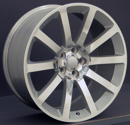 "20"" Fits Chrysler - 3 SRT Wheel - Silver 2x9 