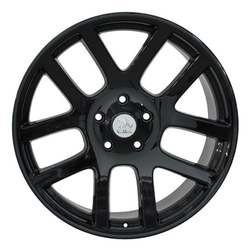 "22"" Fits Dodge - SRT Style Replica Wheel - Black 22x1 