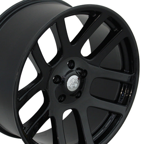 "22"" Fits Dodge - Ram SRT Wheel - Black 22x1 