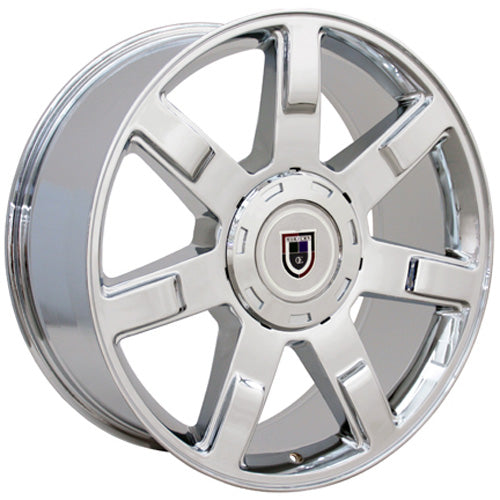 "24"" Fits Cadillac - Escalade Wheel - Chrome 24x10 