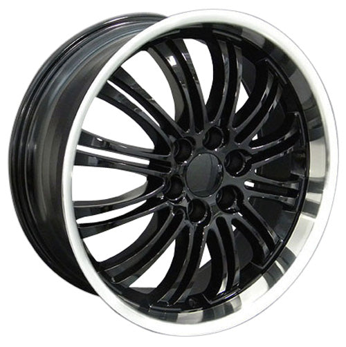 "22"" Fits Cadillac - Escalade Wheel - Black Mach'd Lip 22x9 