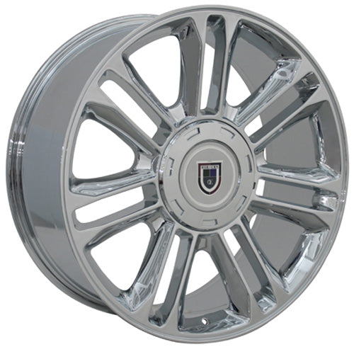 "20"" Fits Cadillac - Escalade Wheel - Chrome 2x9 