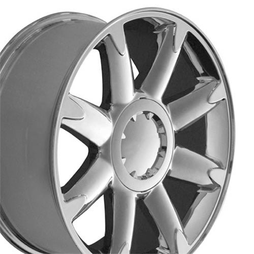 "20"" Fits GMC - Denali Wheel - Chrome 2x8.5 SD 