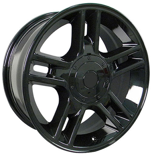 "20"" Fits Ford - F-15 Harley Style Replica Wheel - Black 2x9 