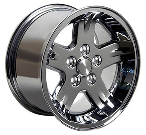 "15"" Fits Jeep - Wrangler Wheel - Chrome 15x8 