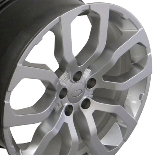 "22"" Fits Land Rover - Range RoverWheel - Hyper Silver 22x1 