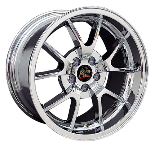 "18"" Fits Ford - Mustang FR5 Wheel - Chrome 18x1 