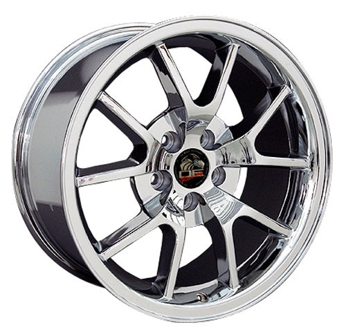 "18"" Fits Ford - Mustang FR5 Wheel - Chrome 18x9 