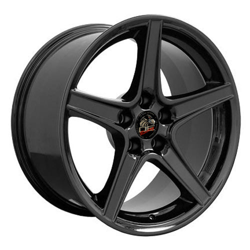 "18"" Fits Ford - Mustang Saleen Wheel - Black 18x9 