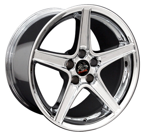 "18"" Fits Ford - Mustang Saleen Wheel - Chrome 18x9 