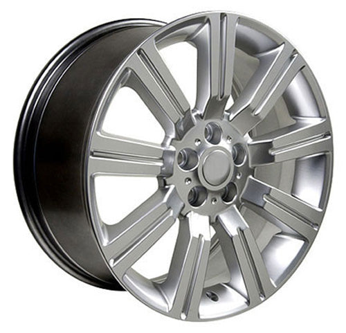 "20"" Fits Land Rover - Range Rover Wheel - Hyper Silver 2x9.5 