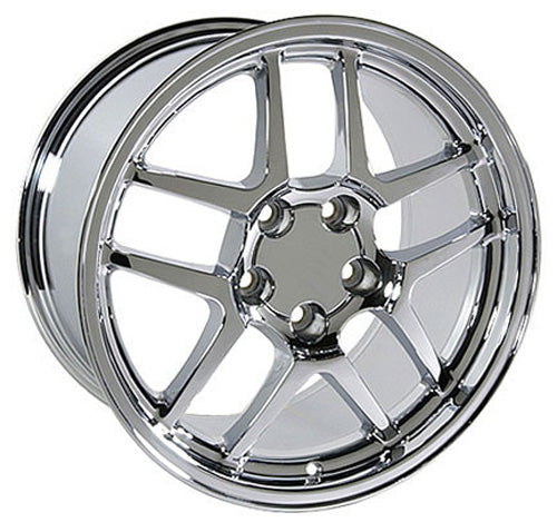"17"" Fits Chevrolet - Corvette C5 Z6 Wheel - Chrome 17x9.5 