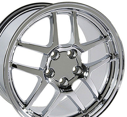 "18"" Fits Chevrolet - Corvette C5 Z6 Wheel - Chrome 18x1.5 