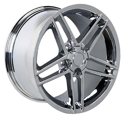 "18"" Fits Chevrolet - Corvette C6 Z6 Wheel - Chrome 18x10.5 