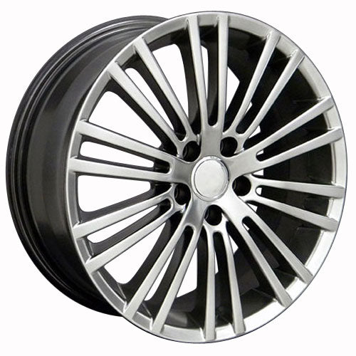 "18"" Fits VW Volkswagen - Wheel - Hyper Black 18x7.5 