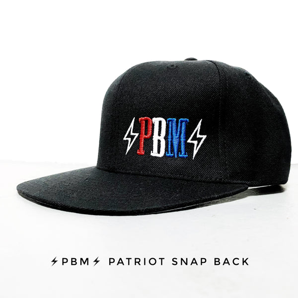 ⚡️PBM⚡️ THE  PATRIOT SNAPBACK HAT *LIMITED EDITION*