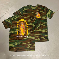 THE LONG ROAD HOME CAMO T-SHIRT