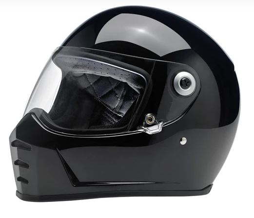 Biltwell Lane Splitter Helmet Gloss Black