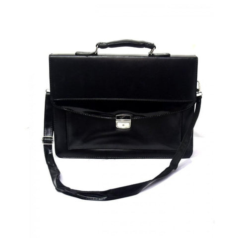 Laptop Bag Leatherette - Black