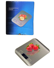 Electronic Kitchen Scale HD Display All Steel Panel