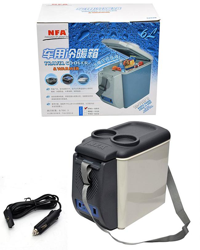NFA 12v Portable Cooling And Heating Fridge Freezer Mini Refrigerator