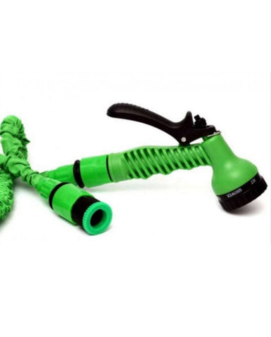 Magic Hose Water Pipe For Garden & Car Wash - 75ft - Green