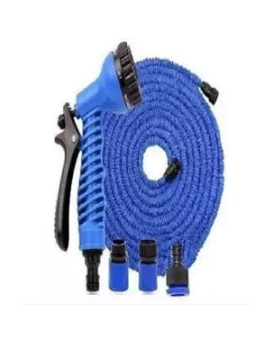 Magic Hose Water Pipe For Garden & Car Wash - 75ft - Blue