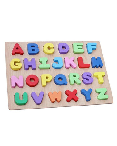 Wooden Alphabet Puzzle Board For Kids