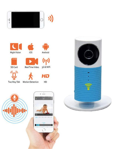 HD WiFi Smart IP Camera - BLUE