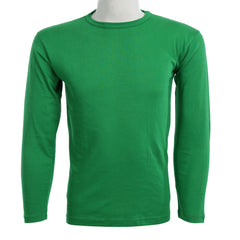 Teemoji Full Sleeves Green Shirt