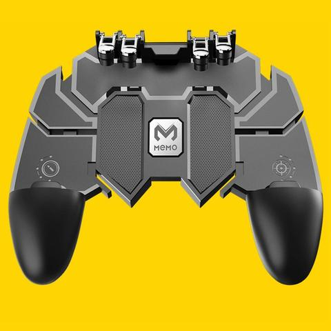 ALINK AK66 SIX FINGER ALL-IN-ONE MOBILE GAME CONTROLLER FIRE KEY BUTTON FOR PUBG