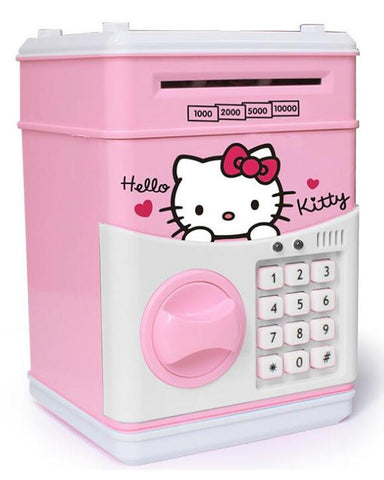 Lajawab Password Protected Auto Money Box - Pink