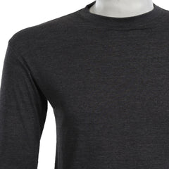 Teemoji Full Sleeves Dark Grey Shirt