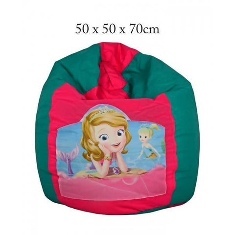 Relaxsit Sofia The First Toddler Bean Bag Chair - Pink & Green