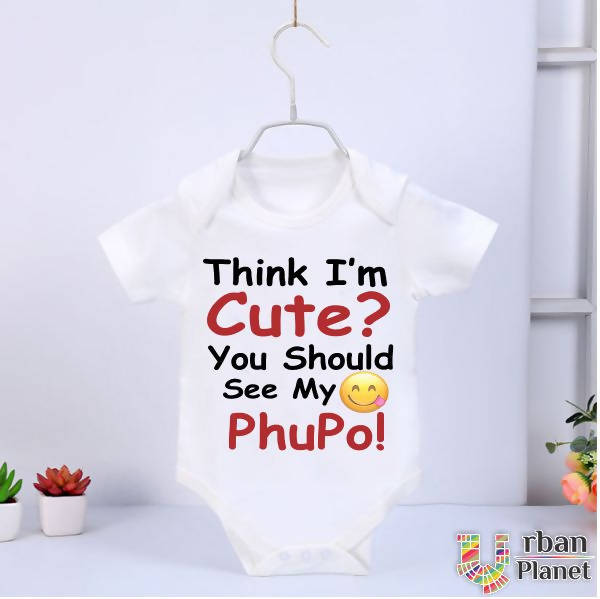 Customized Baby Rompers (Half Sleeve) - Cute Phopo