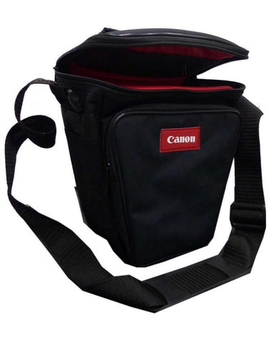 Camera Bag - Black & Red