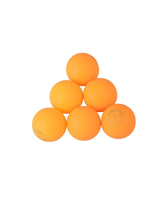 Table Tennis Ball Double Circle (6 pieces)