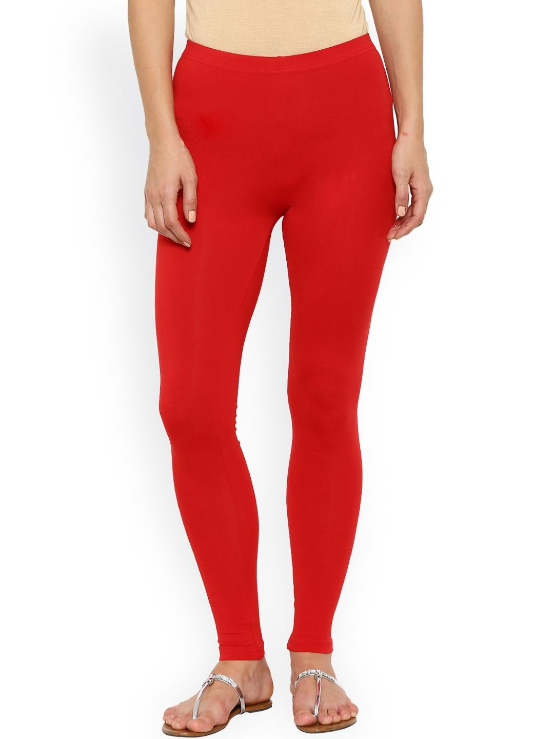 Red Viscose Tights for Women KTY-T245