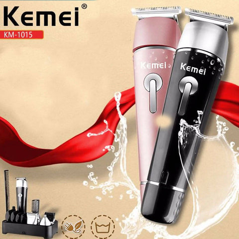 Rechargeable Professional Trimmer Hair Clipper KM-1015
